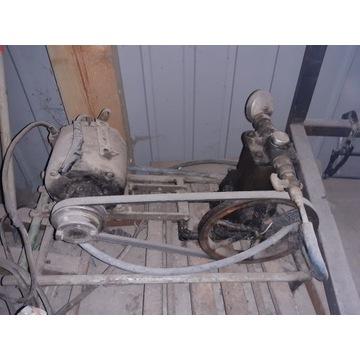 Kompresor Zapytkowy z Silnikiem... USA