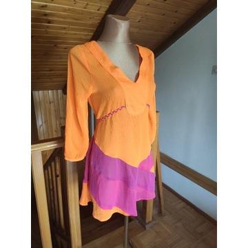 Sukienka tunika plażowa roz 36 S nowa