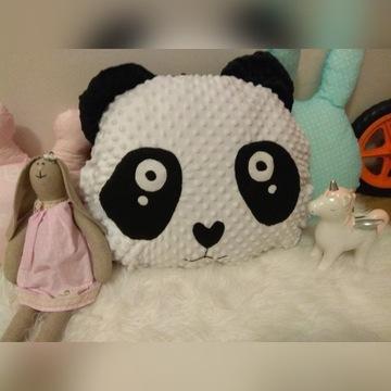 poduszka miś panda polar minky