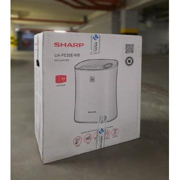 Oczyszczacz Sharp UA-PE30E-WB NOWY do 20m2