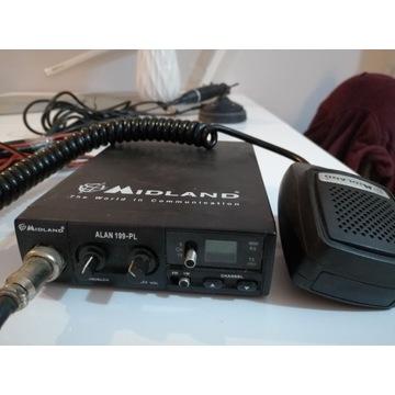 CB RADIO MIDLAND ALAN 199-PL + ANTENA regulowana