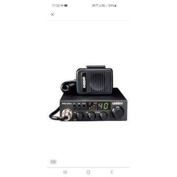 Uniden PRO 520XL + antena magentyczna Alan Blackl