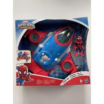 Spiderman  Super Hero Adventures JETQUARTERS
