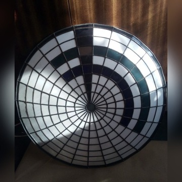 Klosz witrażowy plafon średnica 54 cm