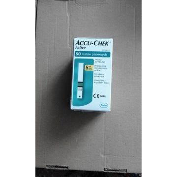 Paski Accu-Chek Active 50 sztuk. Okazja.