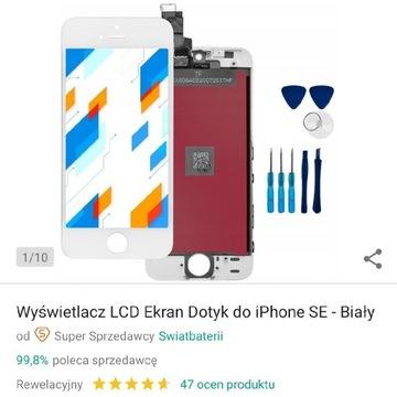 Ekran wyświetlacz dotykowy iPhone