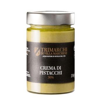 Krem z pistacji sycylijskiej produkt włoski