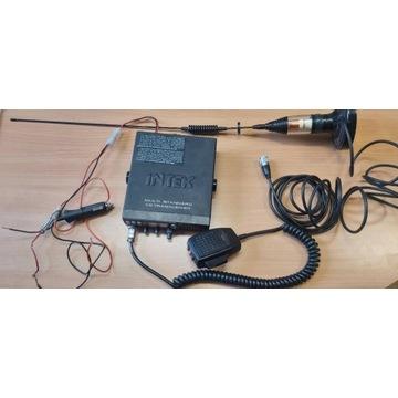 Radio cb Intek M-760 + antena CaneX