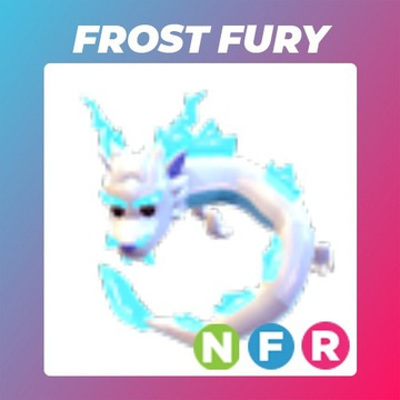 Roblox Adopt Me Neon Frost Fury FR