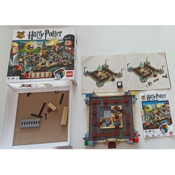 gra LEGO Harry Potter Hogwarts 3862 - niekompletna