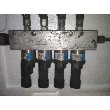 Wtryskiwacze BRC 09SQ99020001G niebieskie LPG