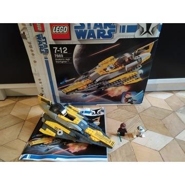 Lego star wars Anakin's jedi starfighter 7669