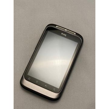 HTC Wildfire S - zadbany - pełny komplet