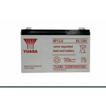 Akumulator 6v 12ah Yuassa