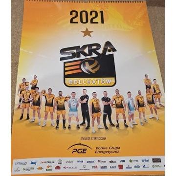 Kalendarz PGE Skry Bełchatów 2021