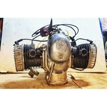 Silnik MT12 K750 po remoncie. M72 dniepr ural