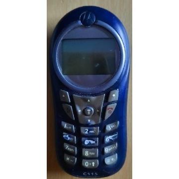 Motorola C115 uszkodzony