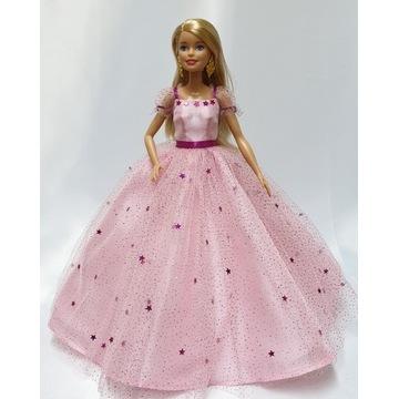 Sukienki dla lalek Barbie. Rękodzieło