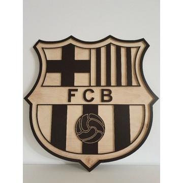 Herb FC Barcelona, szalik koszulka