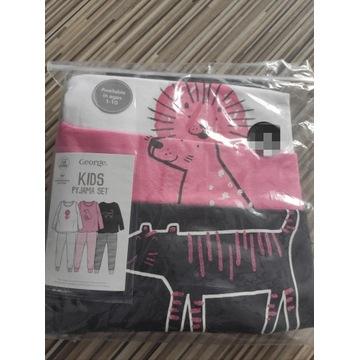 Piżama 3pack buzka spodnie 98/104