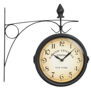 Zegar JYSK RUNAR 21 cm czarny