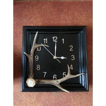 myśliwski zegar ścienny