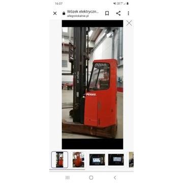 Wózek elektryczny paleciak  Reach truck   mroźnia