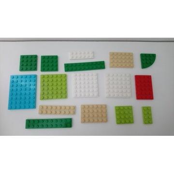 Zestaw lego płytki konstrukcyjne