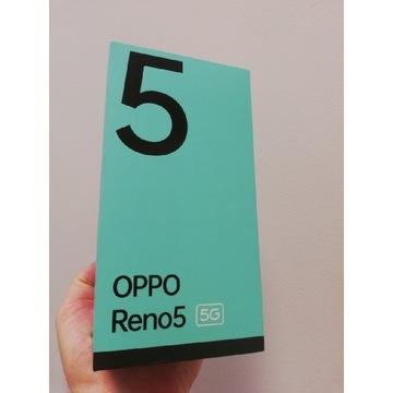 Całkowicie NOWY OPPO Reno5 5G 8/128GB niebieski