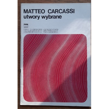 Matteo Carcassi - utwory wybrane na gitarę