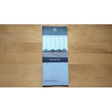 Historia Klasy E broszura, dla kolekcjonera