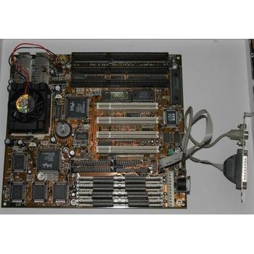 Płyta socket 7 CHAINTECH 5VGM M201 + INTEL MMX 166