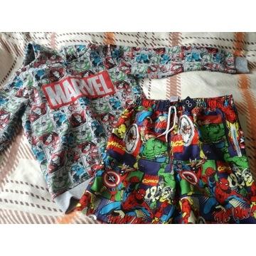 Marvel bluza i spodenki 140