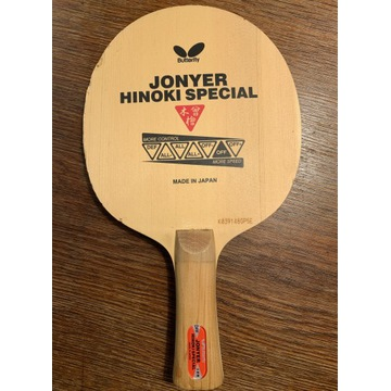 Deska Butterfly Jonyer Hinoki Special FL