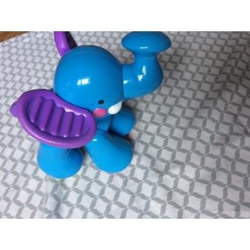 Fisher Price zabawka, słonik, dziecko, niemowlę