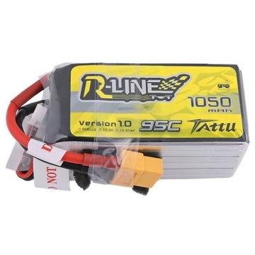 Akumulator Tattu R-Line 1050mAh 22.2V 95C 6S1P XT6