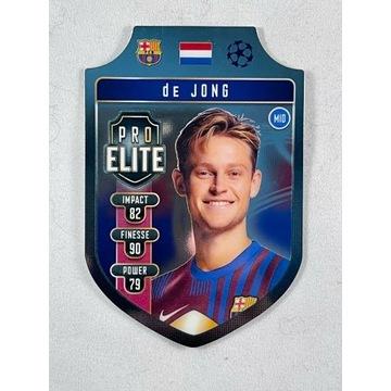 2021/22 Topps Match Attax Pro Elite F. De Jong