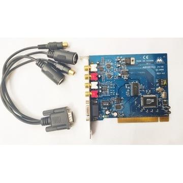 Karta M-Audio Delta Audiophile 2496 24/96 + kable