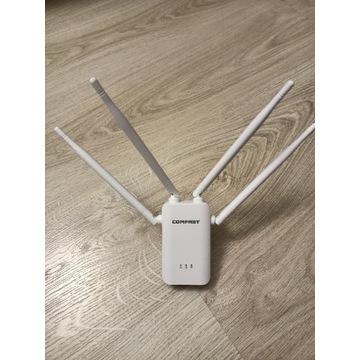 Repeater wzmacniacz wifi 300mbps Comfast 4 anteny