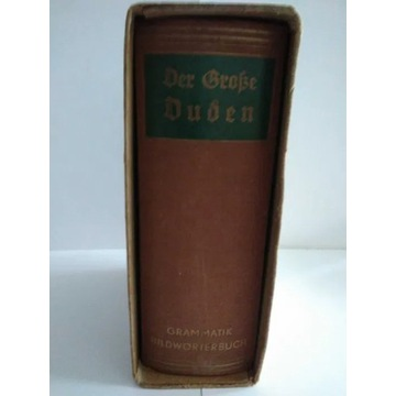Słownik DerSłow grosse duden grammatik bildworterb