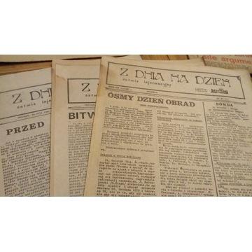 Z Dnia Na Dzień - NSZZ Solidarność PRL 1981