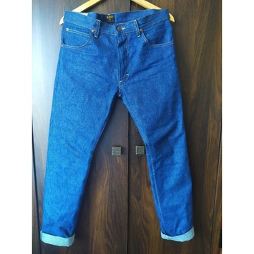 Lee 101 Rider Selvedge denim 32/32 White Oak