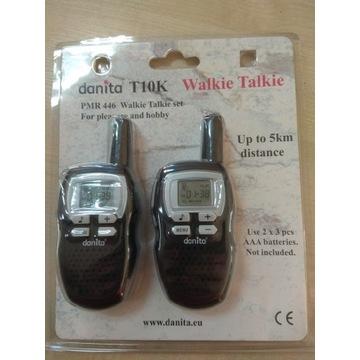 Radia PMR komplet 2 x walkie talkie