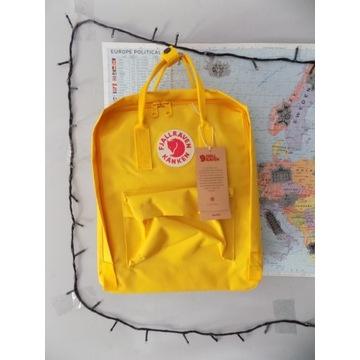 Plecak Kanken 16 L warm yellow / nowy