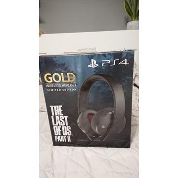 Słuchawki Gold PS4 The Last of Us