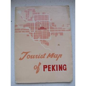 Tourist map of Peking