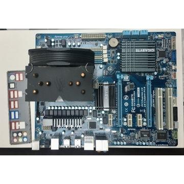 Gigabyte GA-970A-UD3 AM3 + FX-4320 + cooler