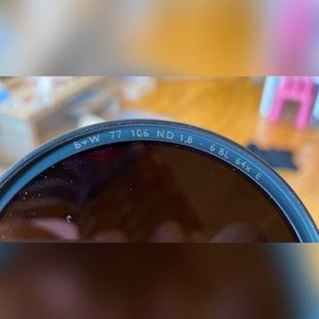 Filtr B+W Szary (106) 64x F-Pro 77mm E