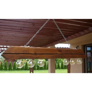 lampa w stylu loft