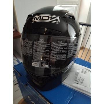 Nowy kask motocyklowy damski lub męski MDS